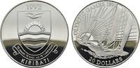 20 Dollars 1992. KIRIBATI Republik. Polierte Platte  20,00 EUR  zzgl. 4,50 EUR Versand