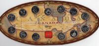 12 x 25 Cents + Medallion 1999. KANADA Elizabeth II. seit 1952. Poliert... 25,00 EUR  zzgl. 4,50 EUR Versand
