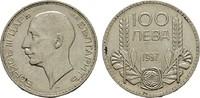 100 Lewa 1937. BULGARIEN Boris III., 1918-1943. Vorzüglich.  12,00 EUR  zzgl. 4,50 EUR Versand