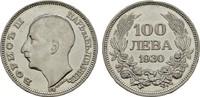 100 Lewa 1930, BP. BULGARIEN Boris III., 1918-1943. Sehr schön-vorzügli... 15,00 EUR  zzgl. 4,50 EUR Versand