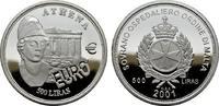 500 Liras 2001. MALTA  Polierte Platte.  25,00 EUR  zzgl. 4,50 EUR Versand