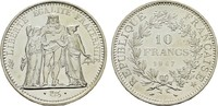 10 Francs 1967. FRANKREICH 5. Republik, seit 1958. Stempelglanz.  14,00 EUR  zzgl. 4,50 EUR Versand