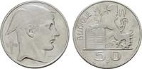 50 Francs 1948. BELGIEN Leopold III., 1934-1950. Sehr schön.  8,00 EUR  zzgl. 4,50 EUR Versand