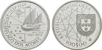 100 Escudos 1989. PORTUGAL  Polierte Platte.  14,00 EUR  zzgl. 4,50 EUR Versand