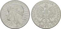 10 Zlotych 1932. POLEN  Sehr schön-vorzüglich.  12,00 EUR  zzgl. 4,50 EUR Versand