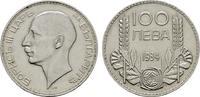 100 Lewa 1934 BULGARIEN Boris III., 1918-1943. Feine Kratzer, Sehr schön  10,00 EUR  zzgl. 4,50 EUR Versand