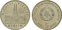 5 Mark 1987. DEUTSCHE DEMOKRATISCHE REPUBLIK, 1949-1990  Stempelglanz  5,00 EUR  Excl. 7,00 EUR Verzending
