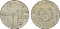 10 Mark 1974. DEUTSCHE DEMOKRATISCHE REPUBLIK, 1949-1990  Stempelglanz.  30,00 EUR  Excl. 7,00 EUR Verzending