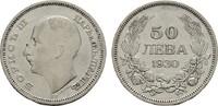 50 Lewa 1930. BULGARIEN Boris III., 1918-1943. Sehr schön  5,00 EUR  Excl. 7,00 EUR Verzending