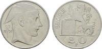 20 Francs 1950. BELGIEN Leopold III., 1934-1950. Sehr schön  5,00 EUR  zzgl. 4,50 EUR Versand