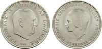10 Kronen 1968. DÄNEMARK Frederik IX., 1947-1972. Stempelglanz.  12,00 EUR  Excl. 7,00 EUR Verzending