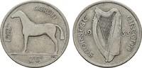 1/2 Crown 1933. IRLAND Freistaat, 1922-1937. Sehr schön  8,00 EUR  zzgl. 4,50 EUR Versand