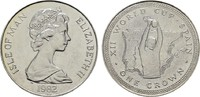 Crown 1982. GROSSBRITANNIEN Elizabeth II seit 1952. Stempelglanz  18,00 EUR  Excl. 7,00 EUR Verzending