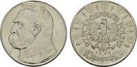 10 Zlotych 1936. POLEN  Sehr schön -Vorzüglich  12,00 EUR  Excl. 7,00 EUR Verzending