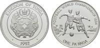 Pa'anga 1992. TONGA Tupou IV, 1965-2006. Polierte Platte  20,00 EUR  zzgl. 4,50 EUR Versand