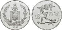 250 Tugrik 1994. MONGOLEI Volksrepublik. Polierte Platte  20,00 EUR  zzgl. 4,50 EUR Versand