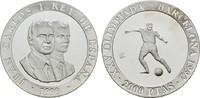 2.000 Pesetas 1990. SPANIEN Juan Carlos I., 1975-2014. Polierte Platte.  17,00 EUR  zzgl. 4,50 EUR Versand