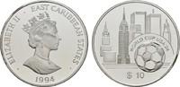 10 Dollars 1994 OSTKARIBISCHE STAATEN Elisabeth II. seit 1952. Polierte... 20,00 EUR  zzgl. 4,50 EUR Versand
