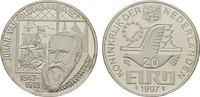 Medaille auf 20 Euro 1997 NIEDERLANDE Beatrix, 1980-2013. Polierte Platte  8,00 EUR  zzgl. 4,50 EUR Versand