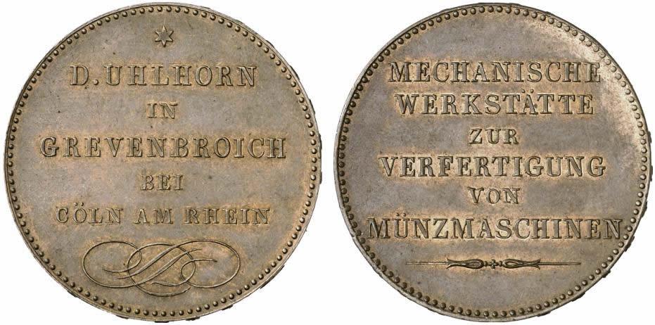 Francs 1846 Frankreich - France Probe 5 Francs vz-st