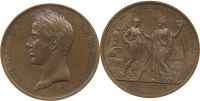 Frankreich - France Medaille 1827 fst Meda...