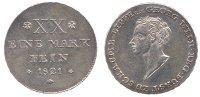 1/2 Taler 1821 Schaumburg-Lippe 1/2 Taler 1821 vz  363,00 EUR  zzgl. 7,00 EUR Versand