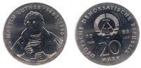 20 Mark 1983 Gedenkprägungen 20 Mark 1983 Probe st  3850,00 EUR kostenloser Versand