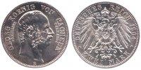 2 Mark 1904 Sachsen 2 Mark 1904 E st-  121,00 EUR