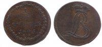 1/2 Stüber 1805 Westfalen, Herzogtum 1/2 Stüber 1805 ss  126,00 EUR  zzgl. 7,00 EUR Versand