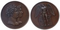Brandenburg-Preuen Medaille 1823 st Bronz...