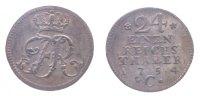 1/24 Taler 1754 Brandenburg-Preußen 1/24 Taler 1754 C vz+  93,00 EUR  zzgl. 7,00 EUR Versand