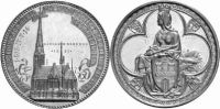 Hamburg Medaille 1885 fst Medaille 1885