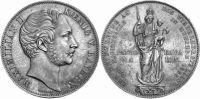 Doppelgulden 1855 Bayern Doppelgulden 1855 fst  187,00 EUR  zzgl. 7,00 EUR Versand
