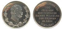 Medaille 1897 Preußen Medaille 1897 st, winz. Kratzer  93,00 EUR  zzgl. 7,00 EUR Versand