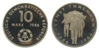 10 Mark 1986 Gedenkprägungen 10 Mark PP 1986 PP  93,00 EUR  zzgl. 7,00 EUR Versand