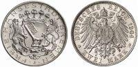 2 Mark 1904 Bremen 2 Mark 1904 fast st  217,00 EUR  zzgl. 7,00 EUR Versand