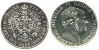 Vereinstaler 1859 Brandenburg-Preußen Vereinstaler 1859 A vz-st, winz. ... 152,00 EUR