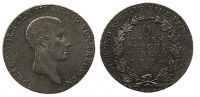1/6 Taler 1814 Brandenburg-Preußen 1/6 Taler 1814 B Breslau vz-st  121,00 EUR  zzgl. 7,00 EUR Versand