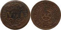 9 Pfennig 1625 Osnabrück, Stadt 9 Pfennig 1625 ss-vz  82,00 EUR  zzgl. 7,00 EUR Versand