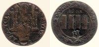 4 Pfennig 1608 Münster, Domkapitel  s - ss  176,00 EUR