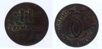 2 Pfennig 1757 Waldeck  s+  27,00 EUR inkl. gesetzl. MwSt., zzgl. 7,00 EUR Versand