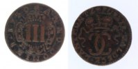 3 Pfennig 1730 Waldeck  fast ss  13,00 EUR inkl. gesetzl. MwSt., zzgl. 7,00 EUR Versand