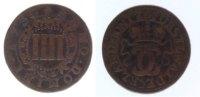 4 Pfennig 1730 Waldeck  fast ss  13,00 EUR inkl. gesetzl. MwSt., zzgl. 7,00 EUR Versand