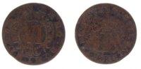 6 Pfennig 1730 Waldeck  s-ss  19,00 EUR inkl. gesetzl. MwSt., zzgl. 7,00 EUR Versand