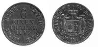 1/6 Taler 1845 Waldeck  ss+  74,00 EUR inkl. gesetzl. MwSt., zzgl. 7,00 EUR Versand