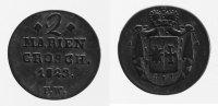 2 Mariengroschen 1823 Waldeck  ss  44,00 EUR inkl. gesetzl. MwSt., zzgl. 7,00 EUR Versand