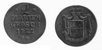 2 Mariengroschen 1822 Waldeck  ss  29,00 EUR inkl. gesetzl. MwSt., zzgl. 7,00 EUR Versand