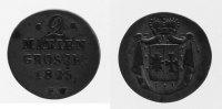 2 Mariengroschen 1825 Waldeck  fast ss  38,00 EUR inkl. gesetzl. MwSt., zzgl. 7,00 EUR Versand