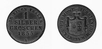 1 Silbergroschen 1855 A Waldeck  Prägefrisch  60,00 EUR inkl. gesetzl. MwSt., zzgl. 7,00 EUR Versand