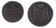 1/2 Mariengroschen 1825 Waldeck  fast ss, kleiner Randfehler  33,00 EUR inkl. gesetzl. MwSt., zzgl. 7,00 EUR Versand